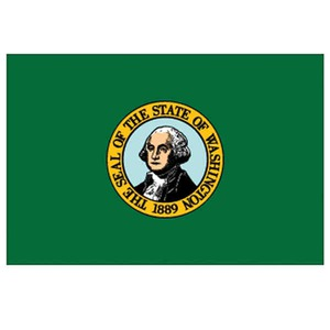 Custom Printed Washington State Flags