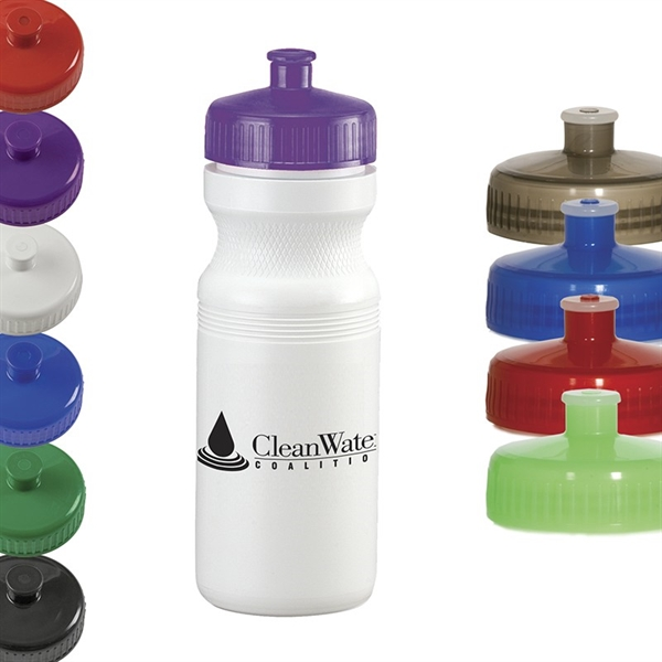 Custom Printed Recycled Material Sport Bottles