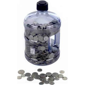 Water Jug Banks, Custom Imprinted With Your Logo!