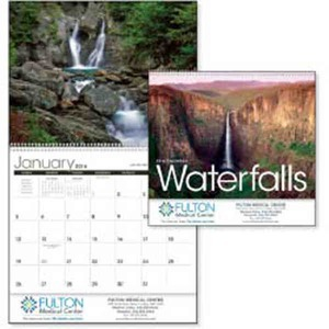 Custom Printed Waterfalls Appointment Calendars