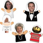 Custom Decorated Wedding Hand Puppets