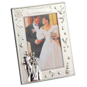 Custom Imprinted Wedding Picture Frames