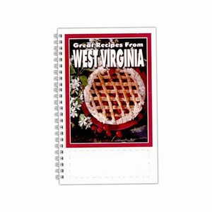 Custom Printed West Virginia State Cookbooks