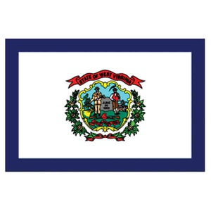 Custom Printed West Virginia State Flags