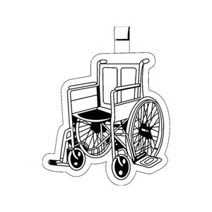 Custom Printed Wheelchair Key Tags