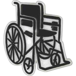Custom Printed Wheelchair Lapel Pins