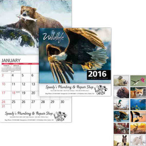 Custom Printed Wildlife Art Appointment Calendars