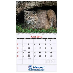 Custom Printed Wildlife Art by the Hautman Brothers Appointment Calendars