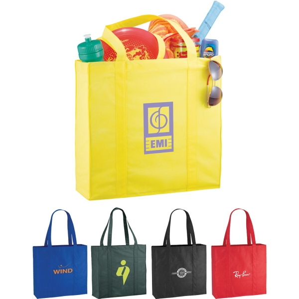 Custom Printed 1 Day Service Double Handle Tote Bags