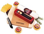 Custom Printed Non Perishable Package Cheese and Sausage Food Gifts