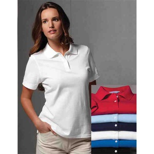 Custom Printed Womens Callaway Corporate Classic Pique Polo Shirts