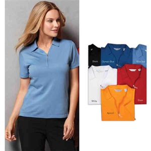 Custom Printed Womens Callaway Corporate Piping V Neck Windshirts