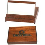Custom Printed Wood Business Card Boxes