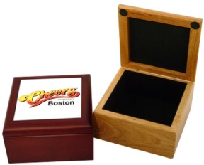 Custom Printed Wooden Gift Boxes