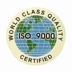 Custom Engraved World Class Certified ISO 9000 Emblems and Seals