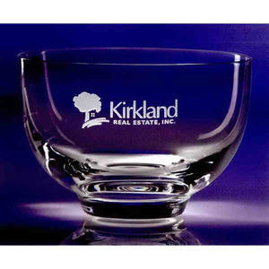 Custom Printed Wright Inspired Olympia Bowl Container Crystal Gifts