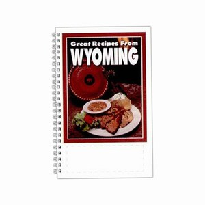 Custom Printed Wyoming State Cookbooks