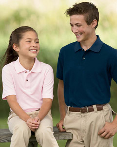Youth Harriton Golf Polo Shirts, Custom Embroidered With Your Logo!