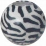Zebra Print Candles, Customized With Your Logo!