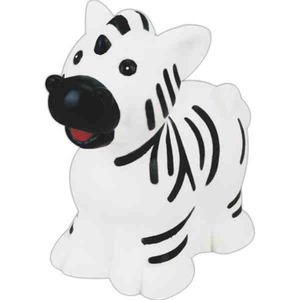 Zebra Squeekie Toys, Custom Imprinted With Your Logo!