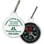 Customized Zipper Pull Compasses