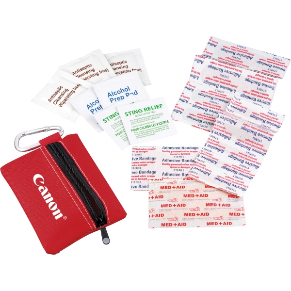 Custom Printed 1 Day Service Travel First Aid Kits